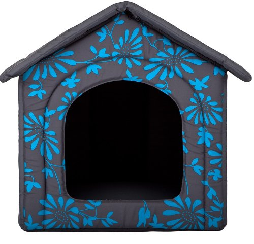 Hundehöhle Blaue Blumen - 2