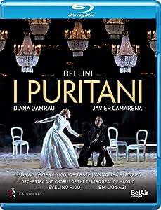Bellini: I Puritani [Diana Damrau; Javier Camarena; Ludovic Tézier; Nicolas Testé; Evelino Pidò] [Belair Classiques: BAC442 ] [Edizione: Regno Unito]