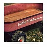 Kess eigene Angie Turner Radio Flyer Rot Weiß Luxe quadratisch Panel, 20,3x 20,3cm