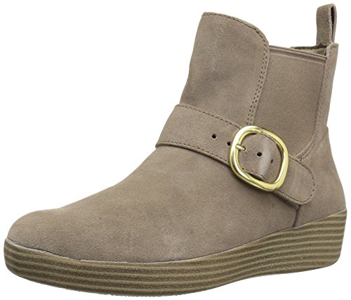 Fitflop Women's Superbuckle Suede Chelsea Fashion Boot