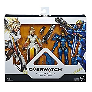 Overwatch- Mercy y Phara, Multicolor (Hasbro E6494ES0)