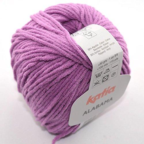Katia Alabama 022 lila 50g Wolle