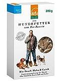 defu Hundekekse Bio mit Huhn & Carob - Hunde Leckerlies Huhn Bio - Hundesnacks getrocknet Huhn| Der gesunde Leckerli für Hunde im 1er- Pack