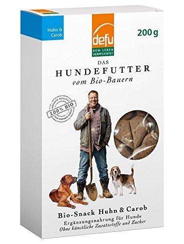 defu Hund Bio-Snack Huhn & Carob (Huhn, Hund Cookie)