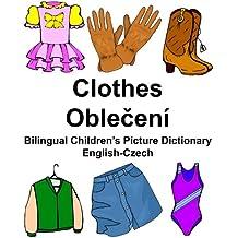 English-Czech Clothes Bilingual Children's Picture Dictionary (FreeBilingualBooks.com)