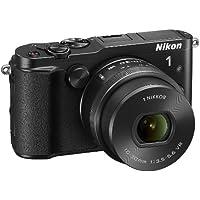 Nikon 1V3Kamera mit Nikkor 10–30mm PD-, Full HD, 18,4Megapixel, micro SD 300x Lexar 16GB, black [Nikon Karte: 4Jahre Garantie]