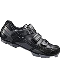 Shimano MTB - Zapatos de bicicleta de montaña, Multicolor (Negro/ Gris), talla 39 EU