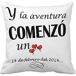 Cojín San Valentínn especial