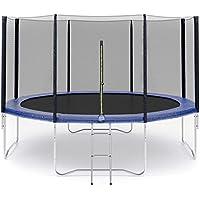 Ersatznetz Sicherheitsnetz Trampolinnetz für Trampolin 305cm -6Stangen 305cm -8Stangen Netzhöhe - 183cm UV-beständig und lichtbeständig, passend für 3,00 - 3,05 Randtrampolin (305cm 8Stangen)
