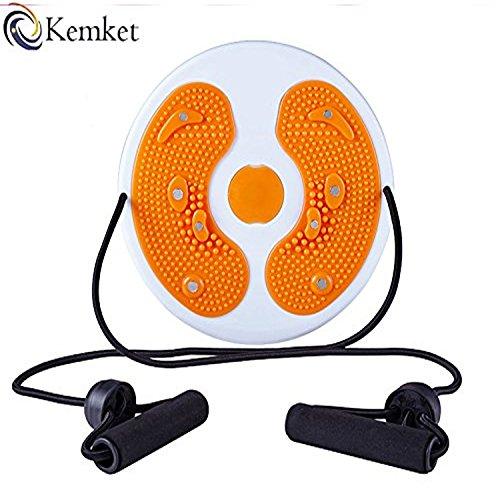 Kemket Vita-Disco magnetico massaggiante per Fitness, con corde e senza corde Stepper wriggled-Massaggiatore per piedi