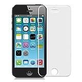 kwmobile Panzerglas Folie matt für Apple iPhone SE / 5 / 5S / 5C Displayschutzfolie - Schutzglas Schutzfolie Displayschutz Glasfolie in matt