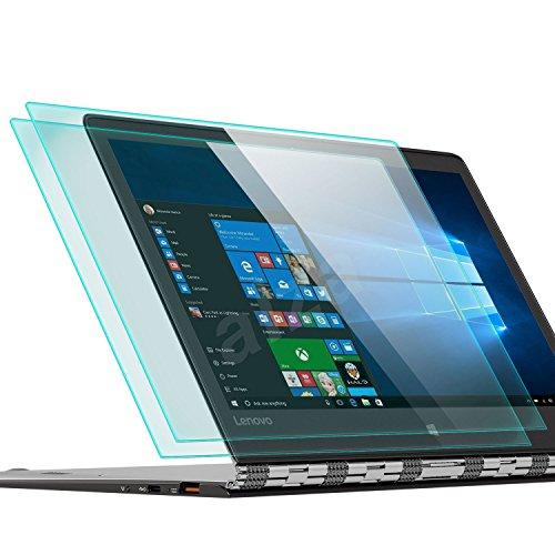 zanasta 2 Stück Bildschirmschutz Glas kompatibel mit für Lenovo Yoga A12 Folie aus Gehärtetem Glass (9H Härtegrad)   Klar Transparent