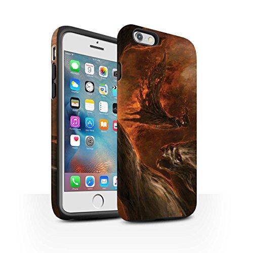 Offiziell Chris Cold Hülle / Matte Harten Stoßfest Case für Apple iPhone 6S+/Plus / Pack 10pcs Muster / Dunkle Kunst Dämon Kollektion Der Anrufer