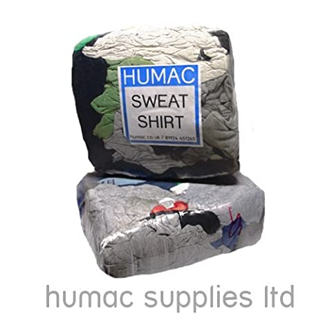 20KG Sweatshirt Cleaning Wiping Cloth Rag Inductrial Polishing Cotton Wiper Bag of Rags - HUMAC