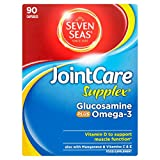 Seven Seas JointCare Supplex with Glucosamine plus Omega-3, 90 Capsules from Seven Seas