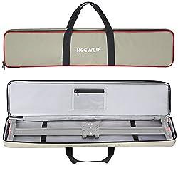 Neewer 105 Zentimenter Tragetasche für Videokamera Slider Dolly bis zu 100 Zentimenter, hellgrün wasserdicht 600D Elater