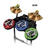Schutzfolien für Guitar Hero 4 'World Tour' Drum set, passt für Xbox 360, PS3, PS2, WII - GLOCK