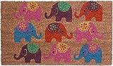 1art1 90408 Elefanten - Compilation Fußmatte Türmatte 70 x 40 cm