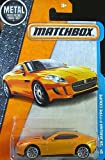 MATCHBOX Jaguar F-Type Coupe 2015 - 1:64 - Farbe: orange (... on short card)