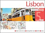 Lisbon PopOut Map: Lisbon Center & City, Metropolitan Area, Metro, Belem (Popout Maps)