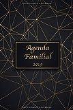 Agenda Familial 2019: Organise, planifie et note la nouvelle année 2019 dans l'agenda et calendrier familial avec 6 colonnes