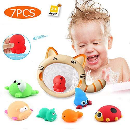 ZHENDUO Baby Badespielzeug 7 Arten Kleintiere kätzchen Angeln Badespielzeug Babyspielzeug für Kind Kind Kinder Badespielzeug Baby Geschenk