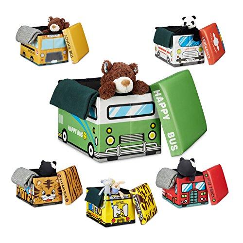 Sitzhocker Kinderzimmer | Relaxdays Faltbare Spielzeugkiste Hbt Ca 32 X 48 X 32 Cm Stabiler