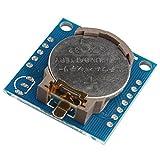 Haljia -  Piccolo modulo Real Time Clock DS1307 I2C RTC DS1307 24C32 per progetti di elettronica fai da te Arduino AVR PIC 51 ARM