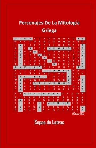 Personajes De La Mitología Griega: Sopas De Letras