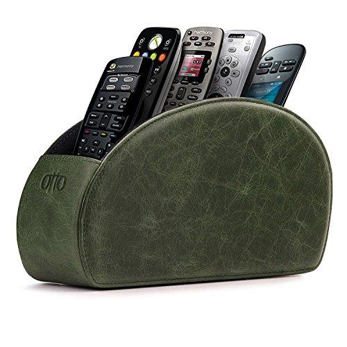 OTTO Fernbedienungshalter mit 5 Taschen - Platz für DVD, Blu-Ray, TV, oder Apple TV Fernbedienungen...