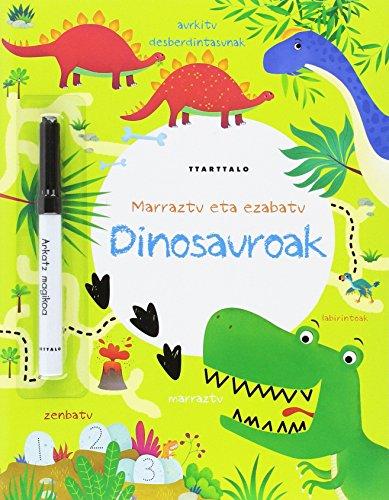 Dinosauroak (Marraztu eta ezabatu) por Kirsteen Robson