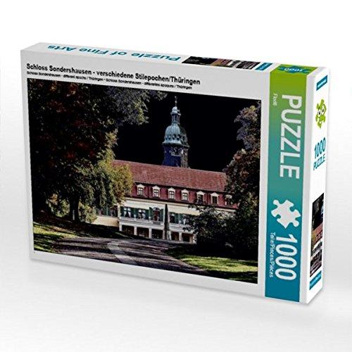 Schloss Sondershausen - verschiedene Stilepochen/Thüringen 1000 Teile Puzzle quer (CALVENDO Orte)
