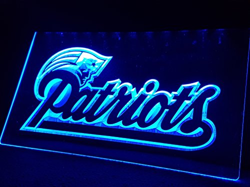 New England Patriots Leuchtschild LED Neu Schild NFL USA Neon / neonschild