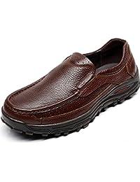 Shenn Hombre Ponerse Trabajo Espacio Negocio Cuero Oxfords Zapatos De Uniforme 1615