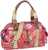 Oilily Babybag OES1102-3306, Damen, Wickeltaschen, Pink (Pink / Grün), 45 x 16 x 25 cm (B x H x T)