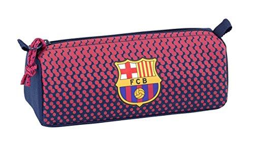 SAFTA Estuche Escolar F.C. Barcelona Corporativa Oficial 210x70x80mm