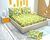 #8: SAGGI'S FITTED BEDSHEET size 72/76/8 inches, IS SPECIFICALLY DESIGNED IN SUCH A WAY THAT IT OFFERS COMFORT & EASE TO THE USER. 100 % COTTON SHEET IS SURROUNDED BY A VERY HIGH QUALITY, TEMPERATURE RESISTENT ELASTIC WHICH PROVIDES FREEDOM FROM TUCKING EVERY DAY! BEDSHEET'S VIBRANT COLORS EXUDES COOL VIBES AND IS DESIGNED IN SUCH A WAY THAT CALMS MIND & SOUL ONCE YOU ENTER THE ROOM.