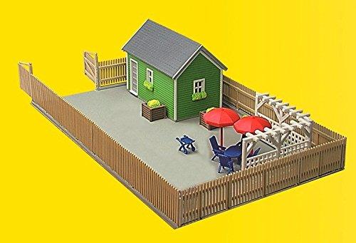 Kibri 38659 - H0 Gartenhaus zur Laubenkolonie