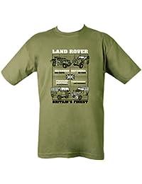 Kombat UK Men's Land Rovers T-Shirt