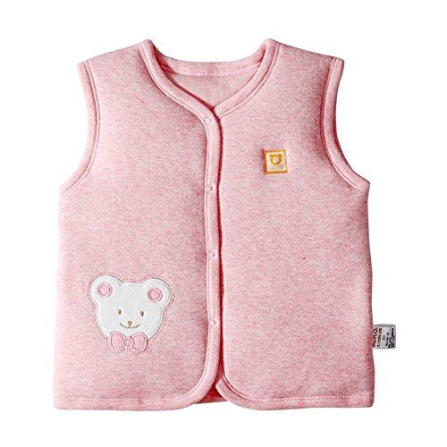 Monvecle Baby Bio Baumwolle Warm Westen Unisex Infant -