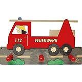 Olli Olbot 35400 Garderobe Feuerwehr - aus Holz