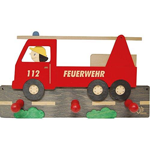 Olli Olbot 35400 Garderobe (Dekorationen Feuerwehr)
