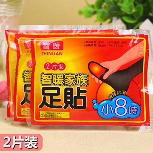 Das Warm-up - spontane Heiß warm - Original warm Fuß-Baby-einlegesohle Heizfläche zu warme Hände warm Fuß Po Nahaufnahme
