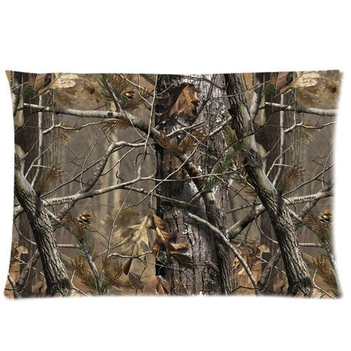 realtree-camo-pillow-cases-covers-standard-size-pillowcase-20x30-twin-sides-by-yescustomdropship
