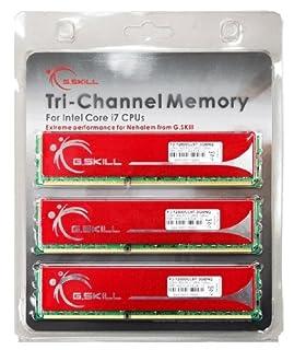 G.Skill NQ DDR3 PC 12800 CL9 6GB kit módulo de - Memoria (6 GB, 3 x 2 GB, DDR3, 1600 MHz, 240-pin DIMM) (B001K4PWXA) | Amazon price tracker / tracking, Amazon price history charts, Amazon price watches, Amazon price drop alerts