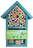 Stolz Insektenhotel Nistkasten Brutkasten für Schmetterlinge Bienen Käfer (Blau)