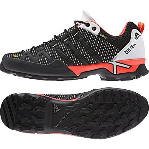 Adidas Terrex extérieur Portée Gtx Approche Chaussures - Lumineux Royal / noir / collégiale Marin Black / Solar Red / White