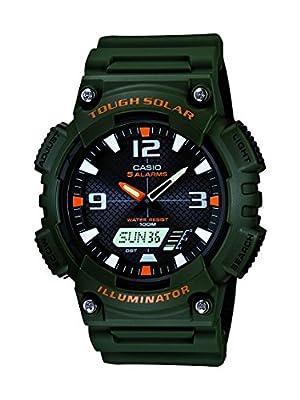Casio AQS810W-3AV - Reloj Deportivo (52.2 x 13.8 x 46.6 mm, 40 g, Verde, Resin) de Casio