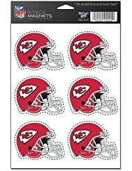 Kansas City Chiefs 6-Pack Magnet Set