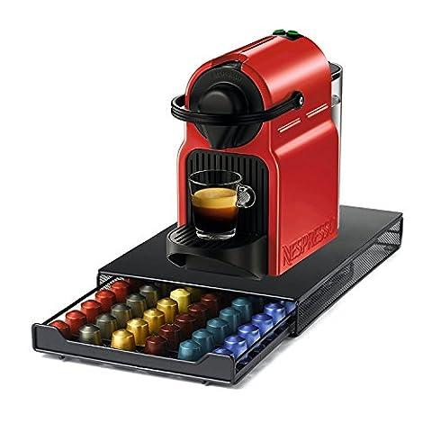 HiveNets Nespresso Capsule Café Machine Tiroir Métal Stockage pour 60 Pcs